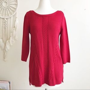 New York & Company Apple red  Sweater